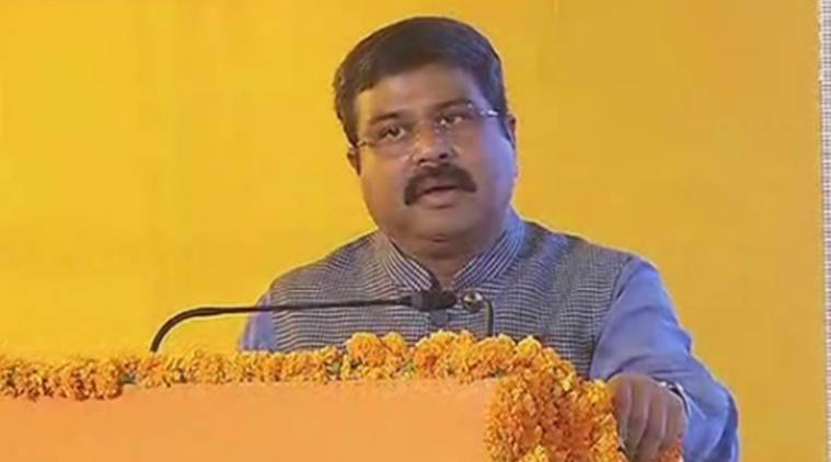Dharmendra Pradhan, GST on petroleum, Petrol prices, fuel prices in India, State GST, Arun Jaitlwey, GST Council, India News, Indian Express
