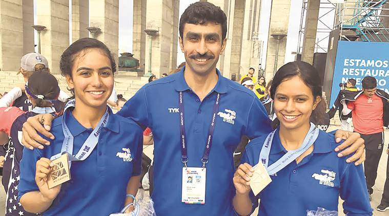 dhayal sisters news, world championship news, sports news, indian express news