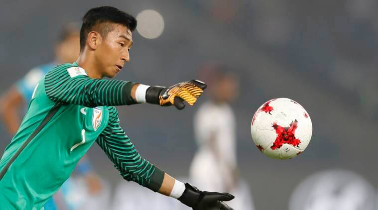 fifa u17 world cup, india u17 world cup, india goalkeeper, dheeraj,