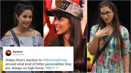 Big Boss 11: 'Don't you have manners?' Twitterati slam Hina Khan, Shilpa Shinde for insulting Dhinchak Pooja