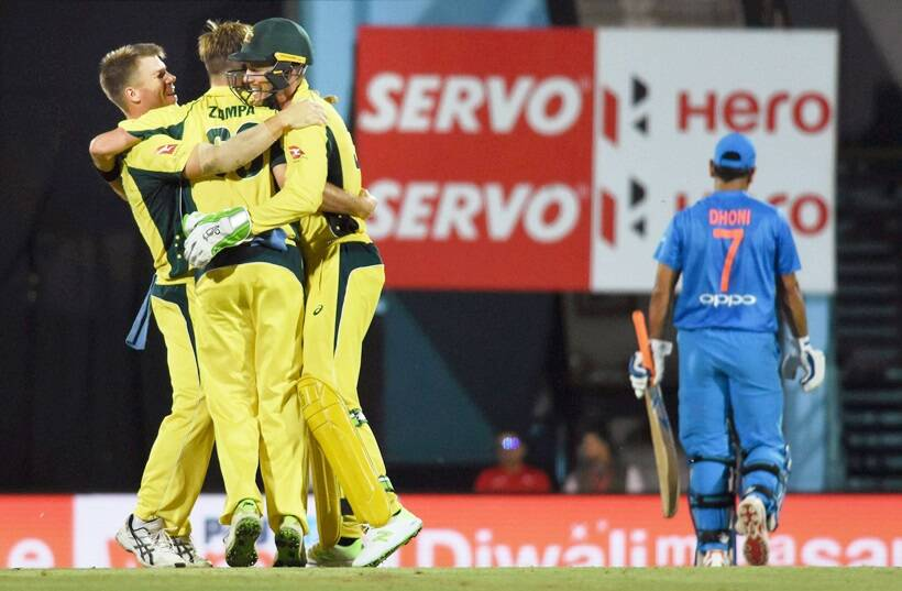 Rock Thrown at Australian Team's Bus After T20 Win Over India