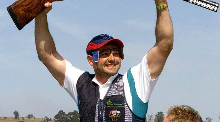 Olympic shooter Diamond wins firearm offences