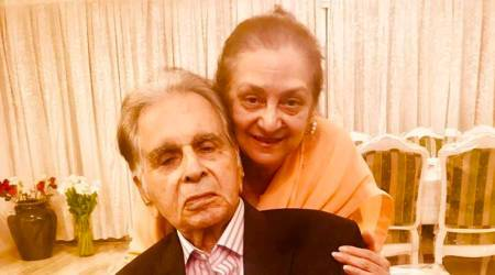 Photos: Dilip Kumar celebrates 51st anniversary with Saira Banu