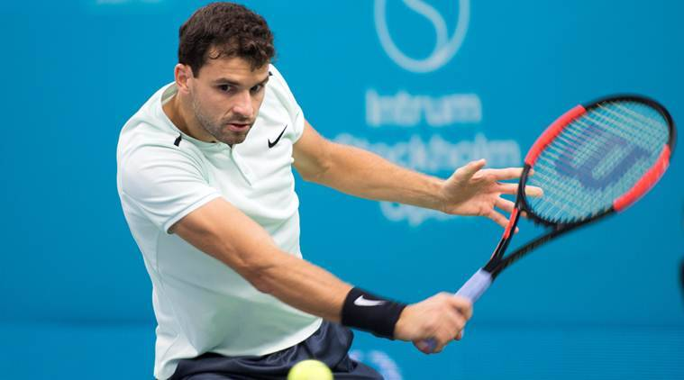 Dimitrov to battle del Potro for Stockholm crown