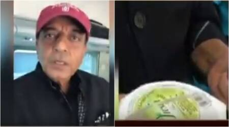 Video: Former railways minister Dinesh Trivedi shows unhygienic drinks served on Shatabdi train to Delhi