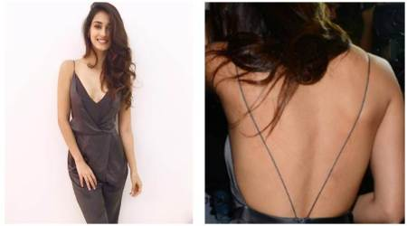 Photo: Disha Patani is happy flaunting her sexy back