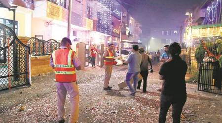 Chandigarh Police receive more emergency calls this Diwali compared to2016