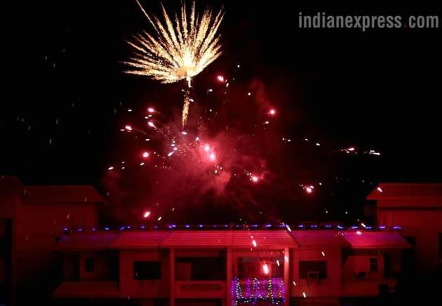After apex court orders, Chandigarh revises cracker bursting timing, now from 8 pm to 10 pm