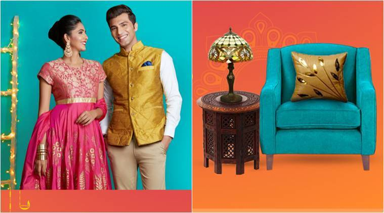diwali, diwali 2017, diwali offers, diwali sale, diwali fashion goods offer, diwali clothing offers, diwali sweets offers, diwali home decor offers, lifestyle news, indian express