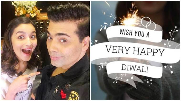 Diwali 2017, Diwali 2017 wishes, Diwali messages, Diwali wishes, Deepavali, Alia Bhatt, Student of the Year, Student of the Year 5 years, Karan Johar