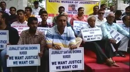 Tripura forms SIT to probe journalist killing; scribes want CBIinquiry