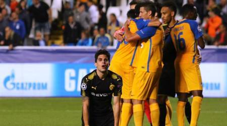 Borussia Dortmund's Champions League hopes dented in Nicosia draw