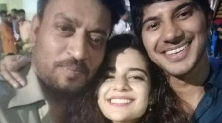Karwan: Dulquer Salmaan wraps his first Bollywood project with Irrfan Khan and Mithila Palkar. See photos