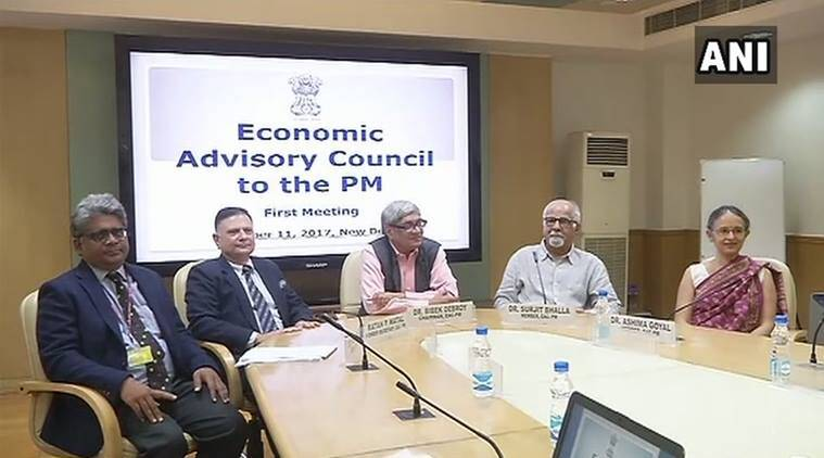 Economic Advisory Council, Narendra Modi, Economic Advisory Council to the Prime Minister,