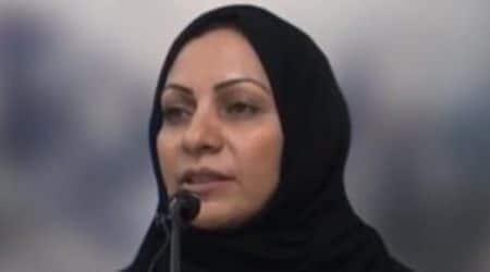 Amnesty International, Bahrain female activist, Bahrain, female activist, Ebtisam al-Sayegh, Bahrain Institute for Rights and Democracy, Bahraini female political activist, world news, indian express news