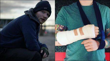Ed Sheeran's arm injury to affect his India concert?