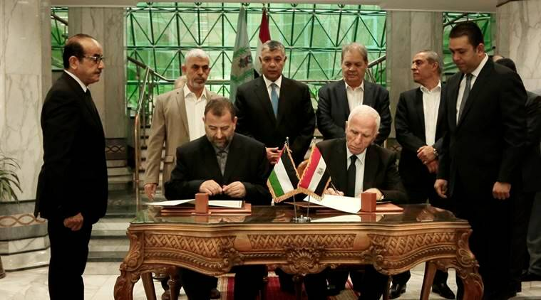 fatah-hamas, Fatah-Hamas reconciliation pact, Fatah-Hamas reconciliation accord, Rafah border crossing, gaza, palestine,egypt, world news
