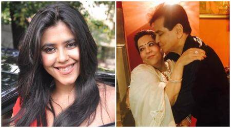 Ekta Kapoor's anniversary wish for parents Jeetendra and Shobha reveals their 'dramatic runaway marriage'. See photo