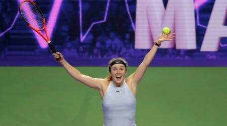 WTA Finals: Elina Svitolina dedicates dead rubber victory to fans