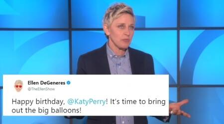 Ellen DeGeneres gets slammed for 'sexist' birthday wish to Katy Perry