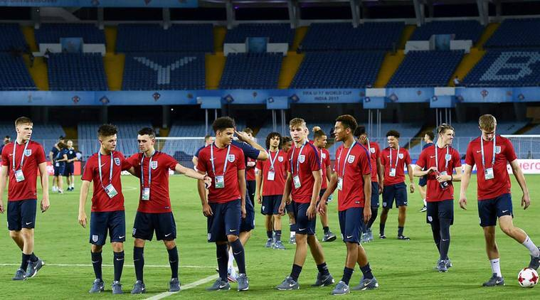 Sancho scores twice as England thrash Chile in U17 World Cup