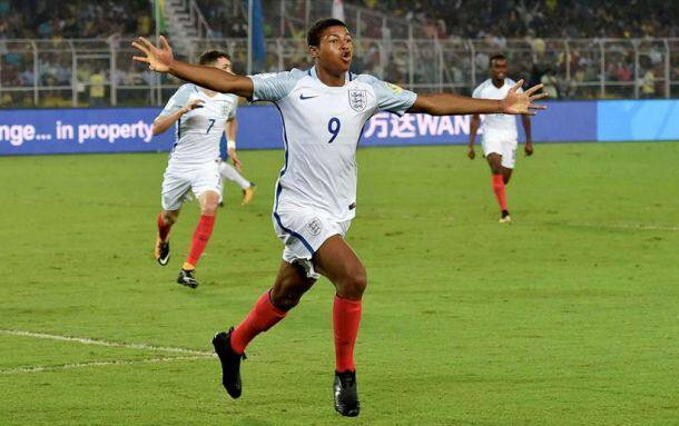 fifa u17 world cup photos, u17 final photos, u17 fifa england team pics, fifa world cup under 17 pics, fifau17wc images, fifa u17 world cup final photos, england vs spain u17 final images, football photo, sports images, indian express