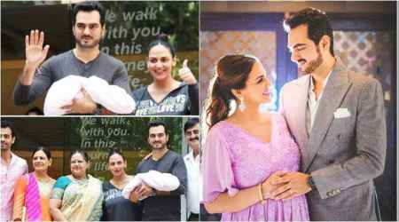 Esha Deol and Bharat Takhtani pick the most divine name for their new born daughter