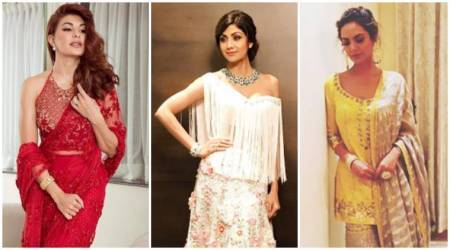 Jacqueline Fernandez, Shilpa Shetty and Esha Gupta show us different ways to nail the festive look
