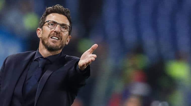 AS Roma, coach Eusebio Di Francesco, Serie A, Football news, Indian Express