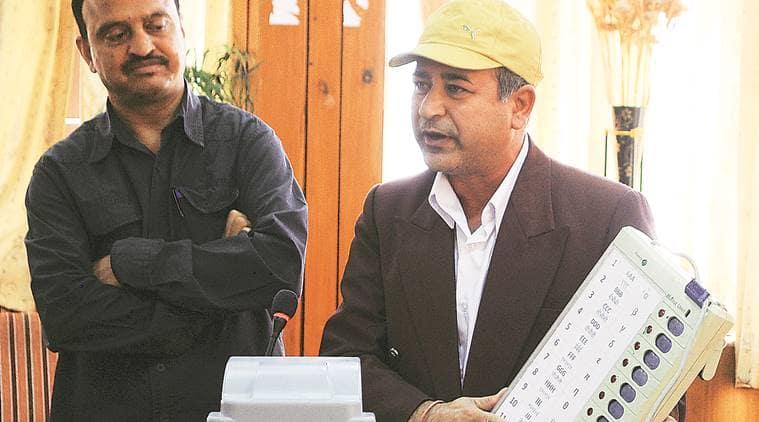 Himachal Pradesh Polls, Himachal pradesh elections, Himachal Pradesh Polls nomination process, VVPAT machines , evm, elections, Himachal Pradesh news, indian express news