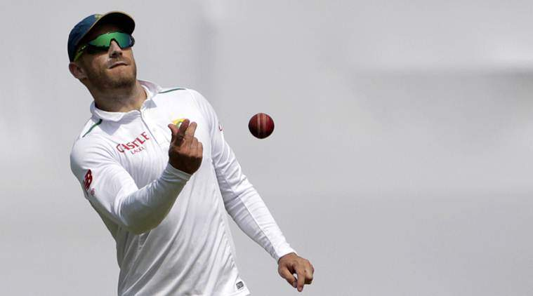 Faf du Plessis doubtful for South Africa's four-day Test against Zimbabwe