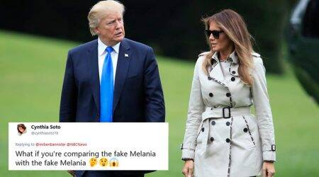 'Fake Melania: Was it a body double with Donald Trump?' Twitter flooded with conspiracy theories