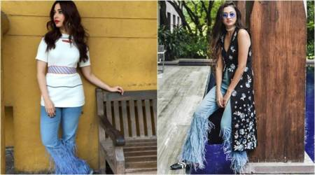 Can you guess the cost of Tamannaah Bhatia's ostrich feather jeans? You can afford it too