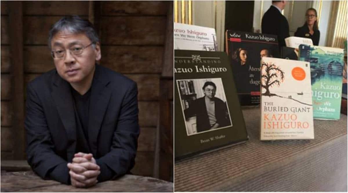 Kazuo Ishiguro, Kazuo Ishiguro Nobel Prize, Nobel Prize in literature, Never Let Me Go Kazuo Ishiguro, Kazuo Ishiguro The Remains of the Day, Kazuo Ishiguro The Buried Giant, indian express, indian express news