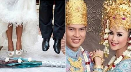 marriage traditions, weird marriage traditions, strange marriage traditions, funny marriage traditions, weird marriage traditions, indian express, indian express news