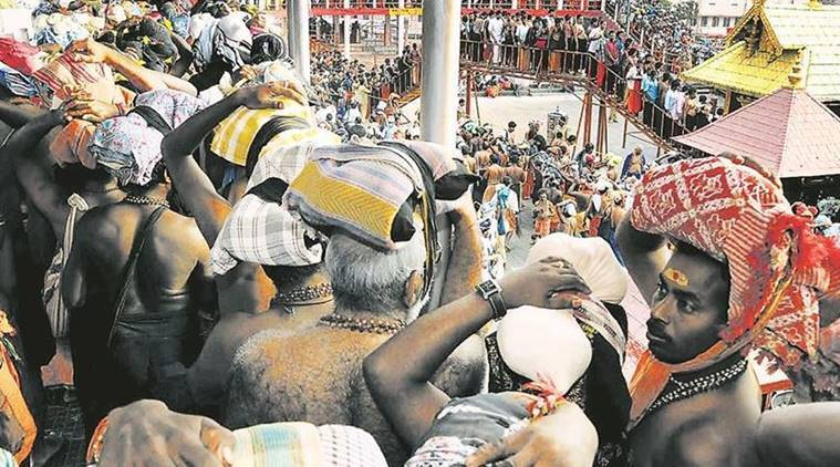 sabarimala temple, women entry in sabarimala, women in sabarimala temple, sabarimala temple controversy, Supreme court on sabarimala, women in indian temples, india news, indian express news