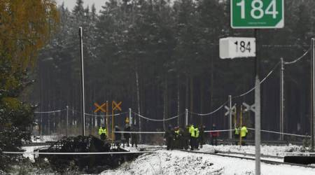 Finland, train crash, Finland train crash, Finland accident, Finland train accident, world news, indian express news