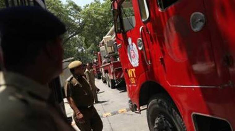 Surat: Four students sustain burn injuries as school van catches fire