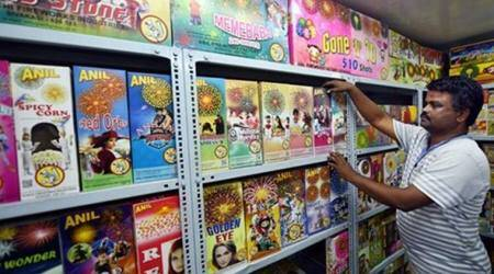 Temporary licences issued to firecracker sellers inLudhiana