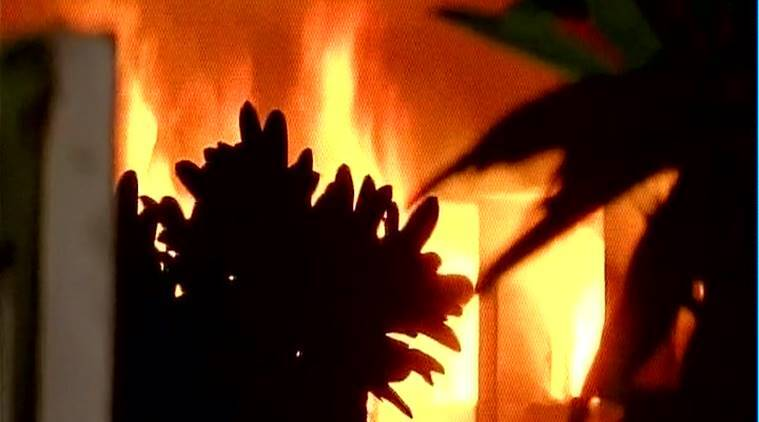Lucknow: Fire breaks out at mosque in Rampur, probe begins