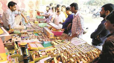 Diwali leaves firecracker sellers happy inChandigarh
