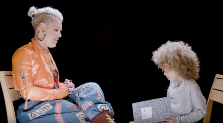 Video: Pop singer Pink had the cutest Q and A session with a 5-year-old kid