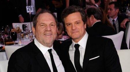 Colin Firth regrets not acting on Harvey Weinstein accusation