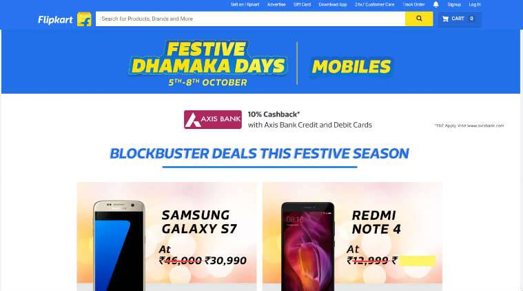 Flipkart to Take on Amazon With Festive Dhamaka Days Sale Starting Tomorrow