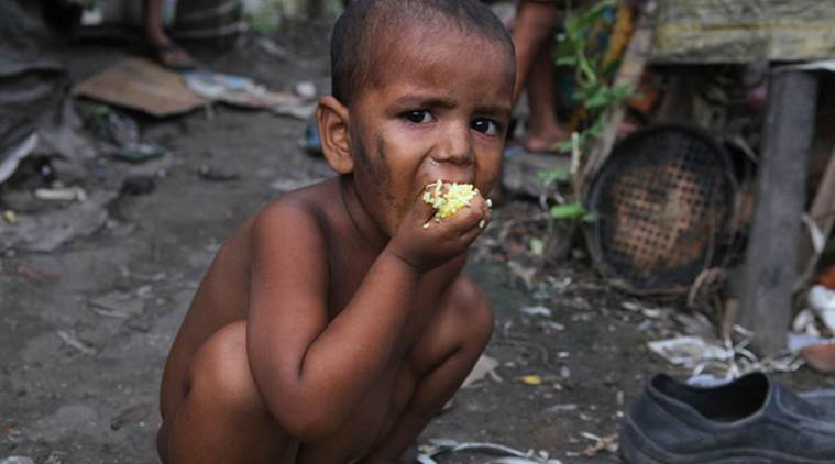 hunger, starvation death, food policy research, nfsa, malnutrition, unicef, food security, national food security act 2013, underdeveloped children, stunted growth, p chidambaram, indian express