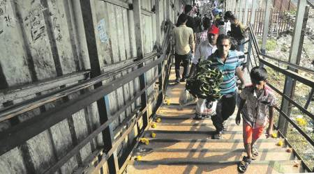 Army begins work on three foot-overbridges in Mumbai