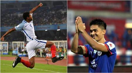 England are my favourite to win the U-17 World Cup final, says Sunil Chhetri