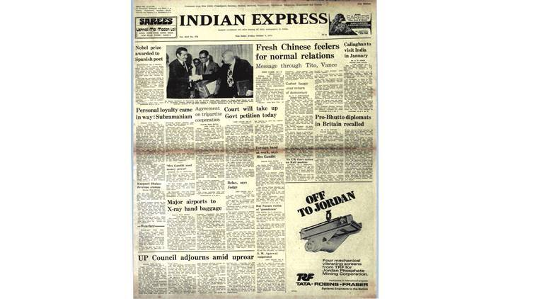 india china relations, attal bihari vajapyee, indira gandhi, india pakistan ties, india bangaldesh ties, Vicente Aleixandre, forty years ago, indian express