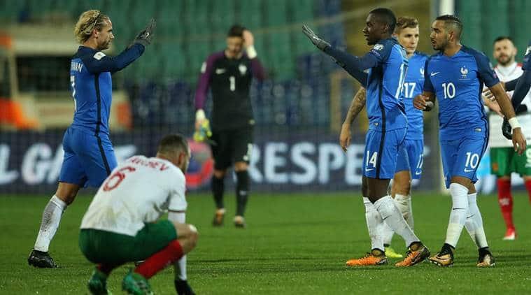 2018 fifa World Cup qualifier, France vs Bulgaria, Blaise Matuidi, Russia, Sweden