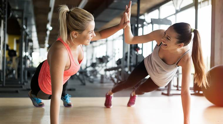 workout with friends, fitness goals, friendship goals, Exercising with friends, health tips, how to reduce stress, depression cure, depression, indian express, indian express news